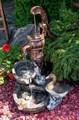 Фонтан садовый
