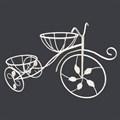 Велосипед подставка на подоконник