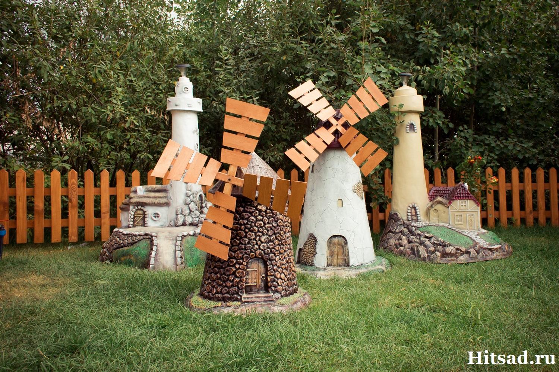 Как сделать декоративную водяную мельницу 46