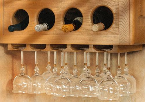 Винные шкафы для хранения бутылок в доме, на даче, в торговых залах