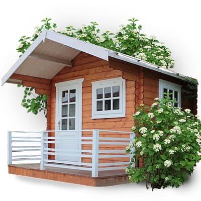 Дачные домики из дерева