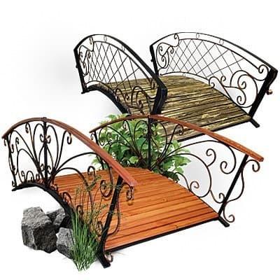 Садовые мостики и качели