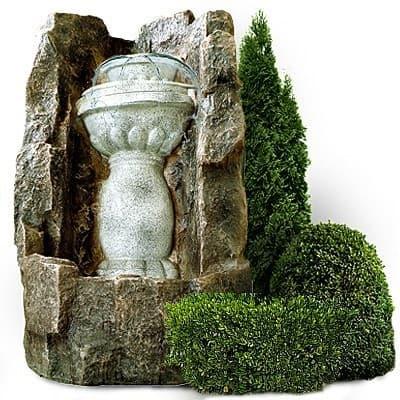 Умывальники и фонтаны для сада