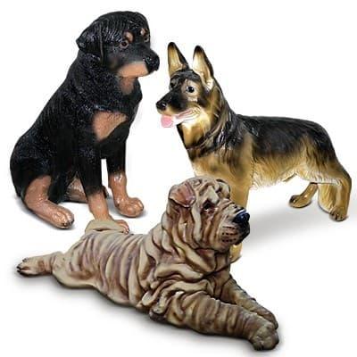 Фигурки Собаки полистоун