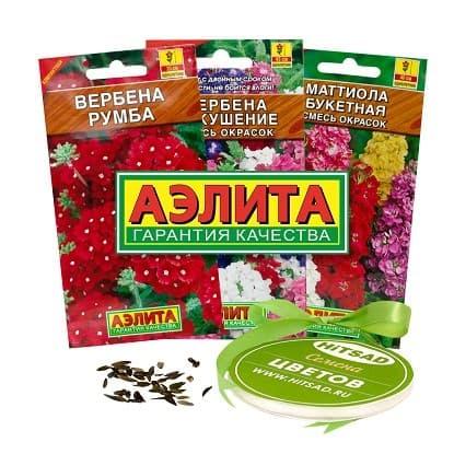 Семена цветов Аэлита