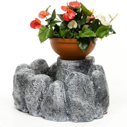 Кашпо из искусственного камня
