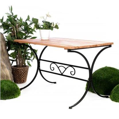 Обеденные столы для дачи