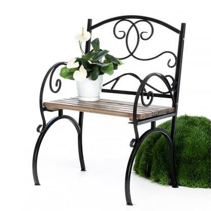 Металлические садовые стулья