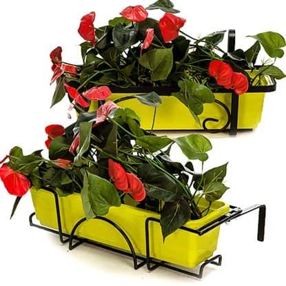 Кронштейны и подвесы для цветов