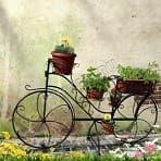 """<h4 class=""""title_news_article"""">Велосипед подставки для цветов. Очень романтичные</h4>"""