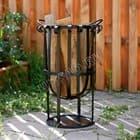 Уличный кованый очаг - новинка садового декора