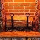 Новинки! Оригинальный декор камина - держатели для дров