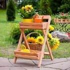 Подставки в сад - необыкновенная красота!