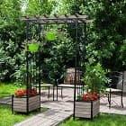 Арки - важные детали в саду