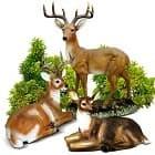 Благородные олени для сада