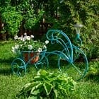 Садовый декор в новой покраске