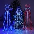 Новогодние световые фигуры