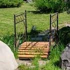 Как собрать садовый мостик?