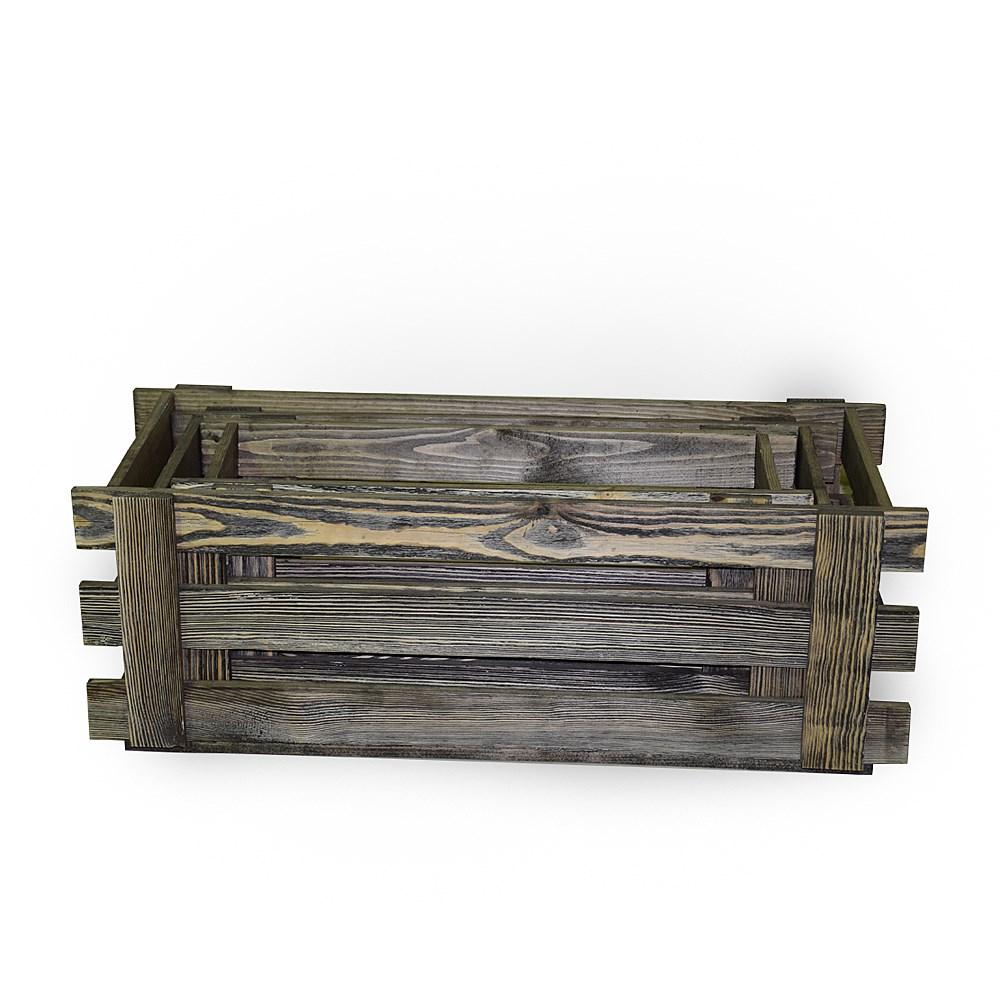 для цветов ящик фото деревянный
