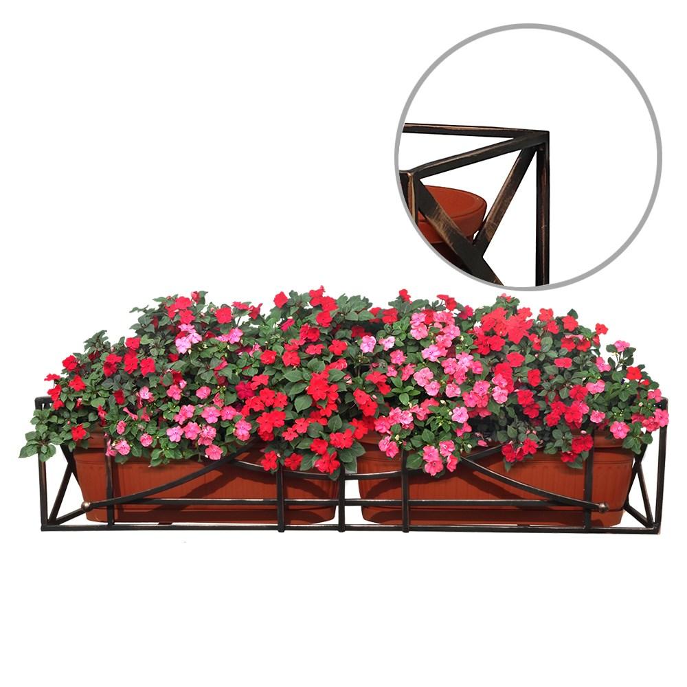 Подставка для цветов для украшения балкона от хитсад.