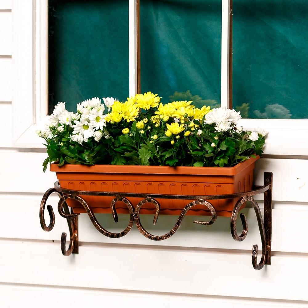Кронштейн для цветочных ящиков 51-264 купить за 940 руб. в м.
