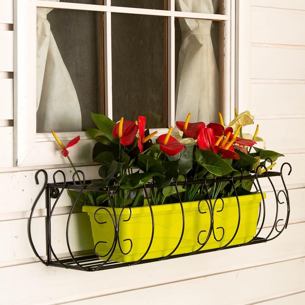 Кронштейн для цветов 51-283 купить в магазине садового декор.