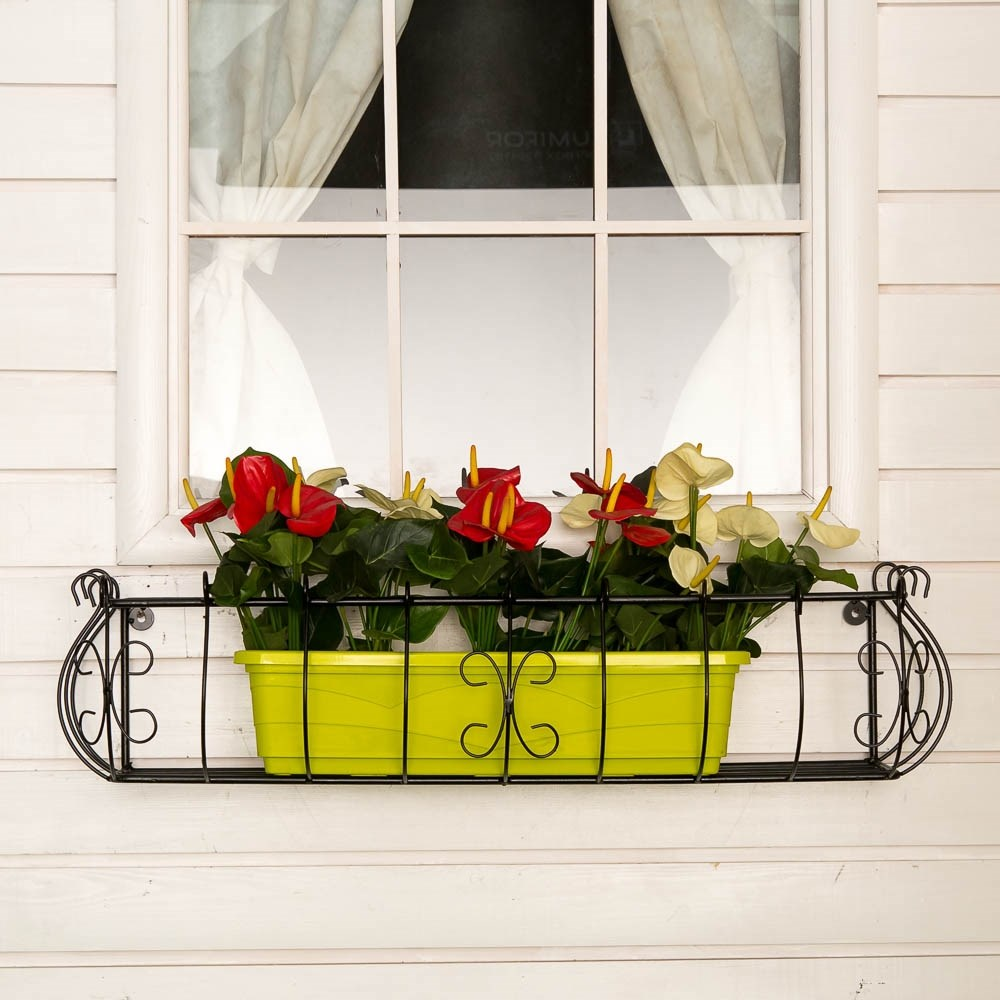 Кронштейн для цветов 51-284 купить в магазине садового декор.