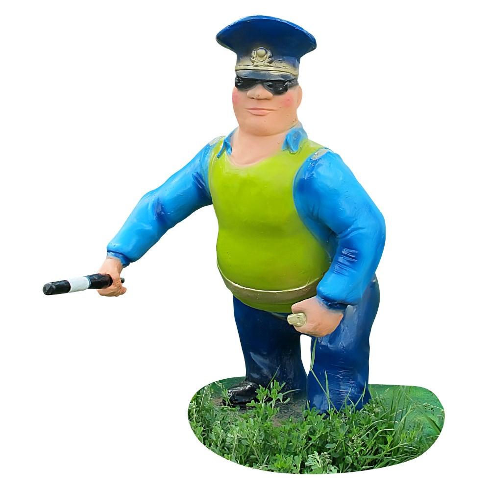 Садовая фигура инспектор дпс
