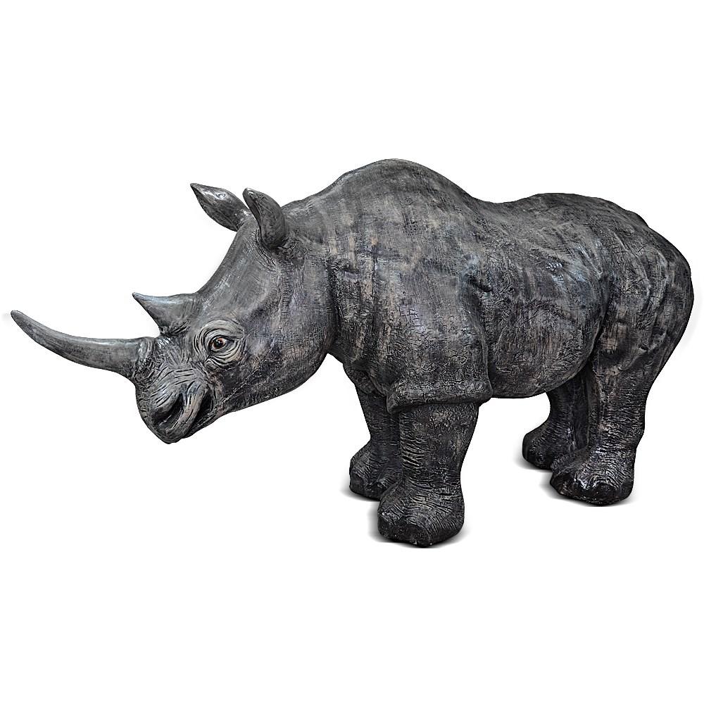 Садовая фигура Носорог - фото 12980