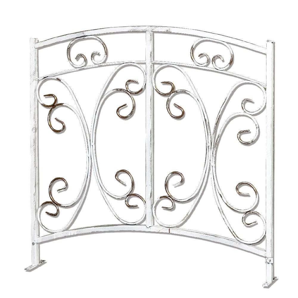 Забор белый - фото 13566