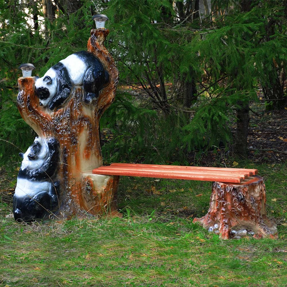 Панды на дереве - фото 13663