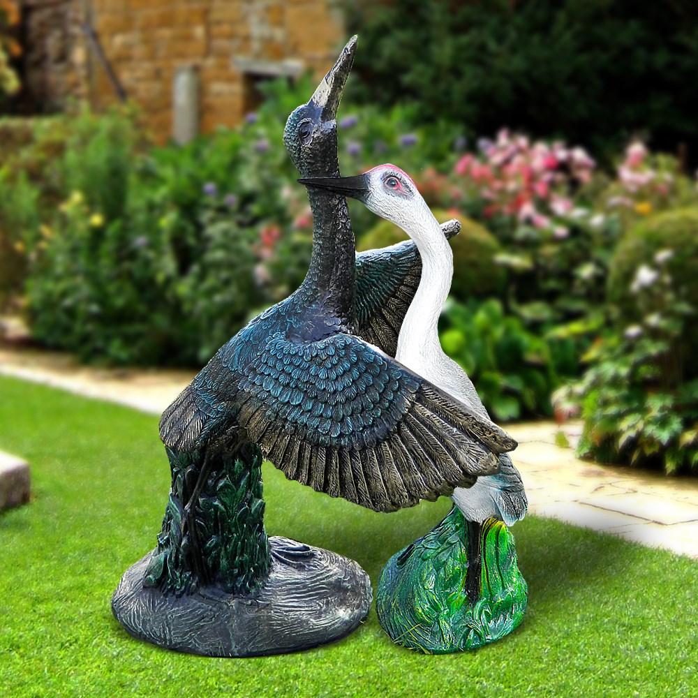 Комплект садовых фигур Журавли - фото 13982