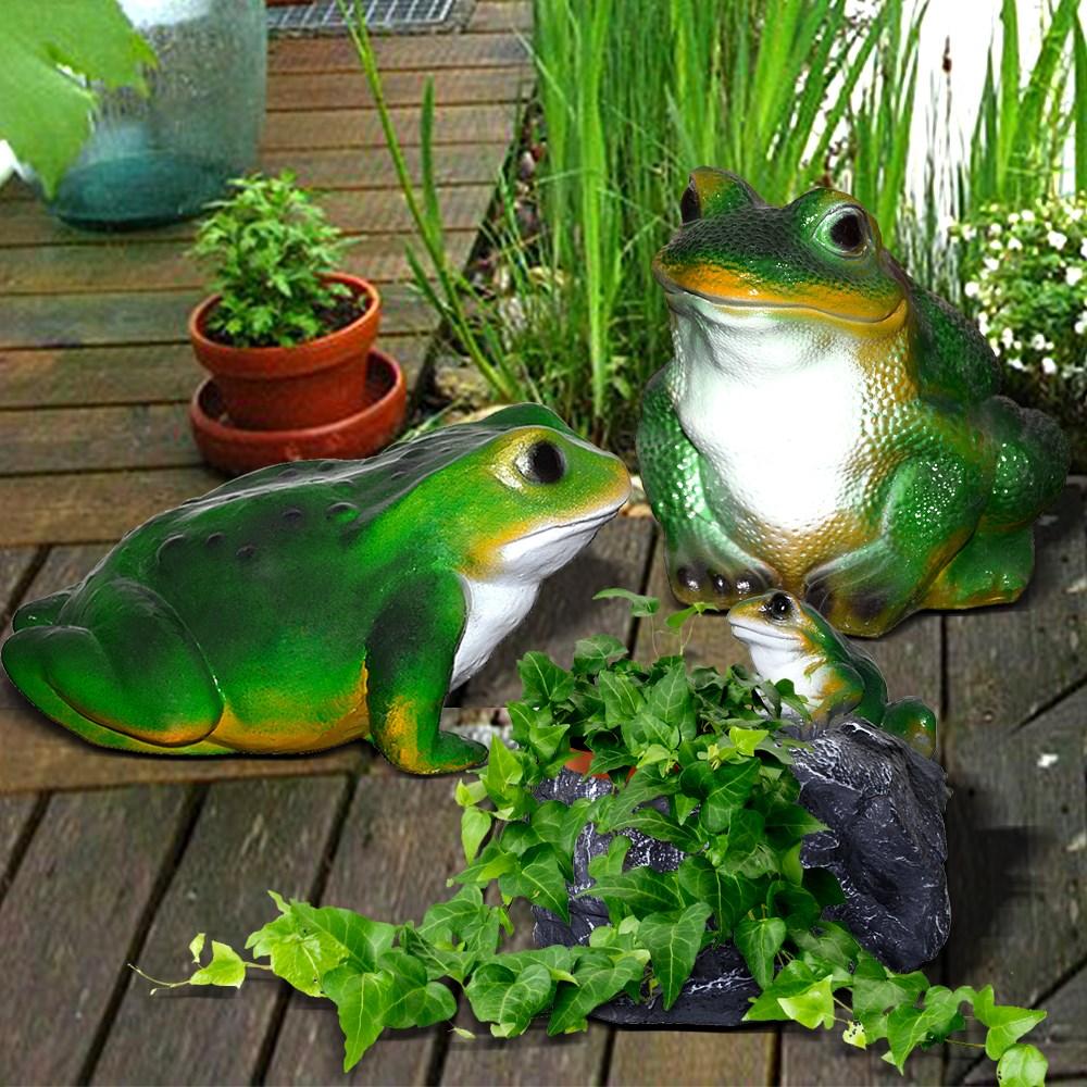 Комплект садовых фигур Лягушки F07863 купить за руб.2 156,50 в Москве * Скидки на Садовые комплекты