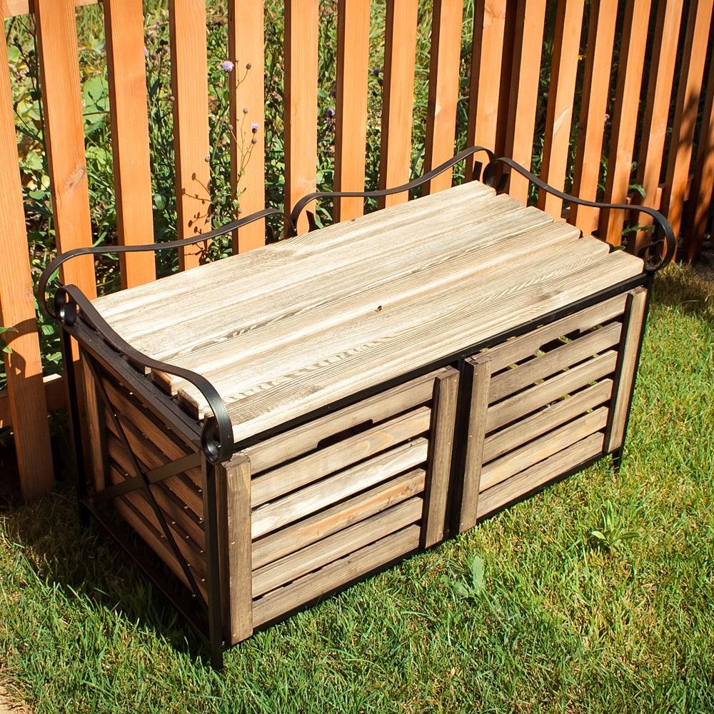 Ящик для хранения в садовом центре