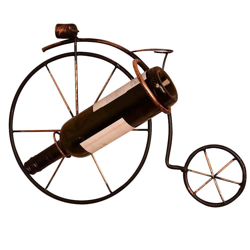 Подставка винная Велосипед на стену - фото 18108