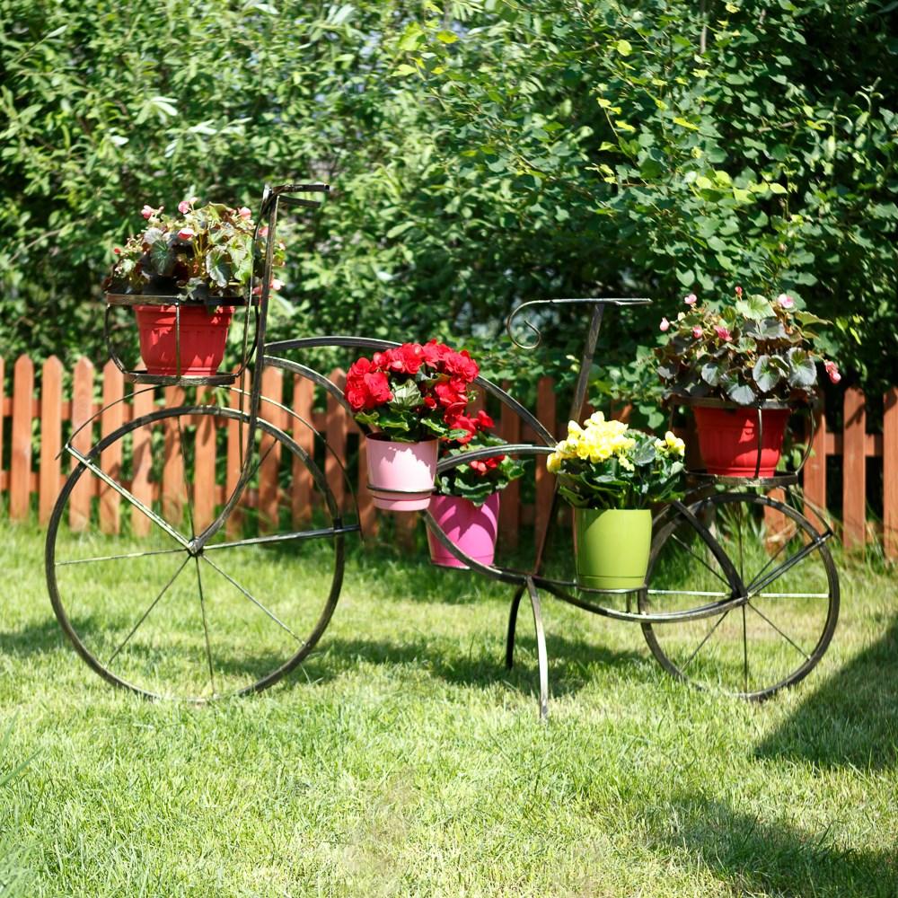 Велосипед садовый для цветов
