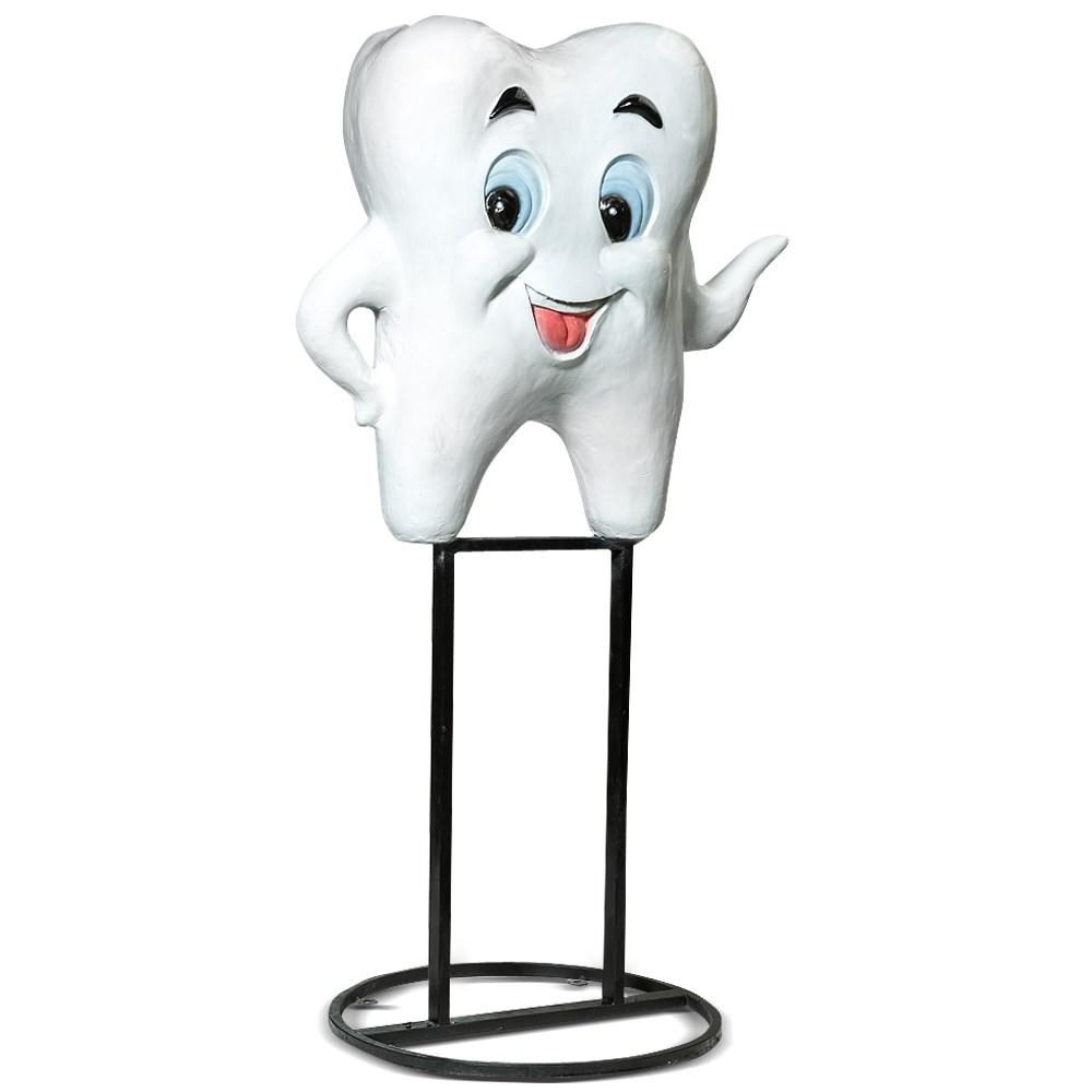 Рекламная фигура зуб