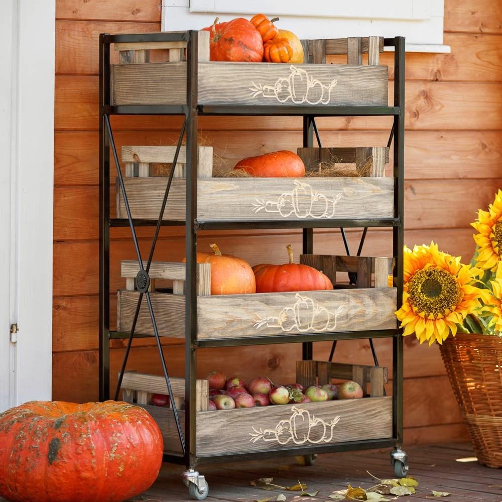 Ящики для хранения урожая