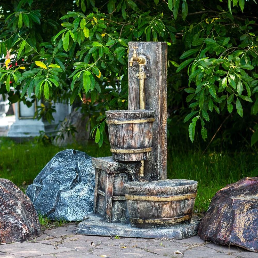 Умывальник для сада декоративный