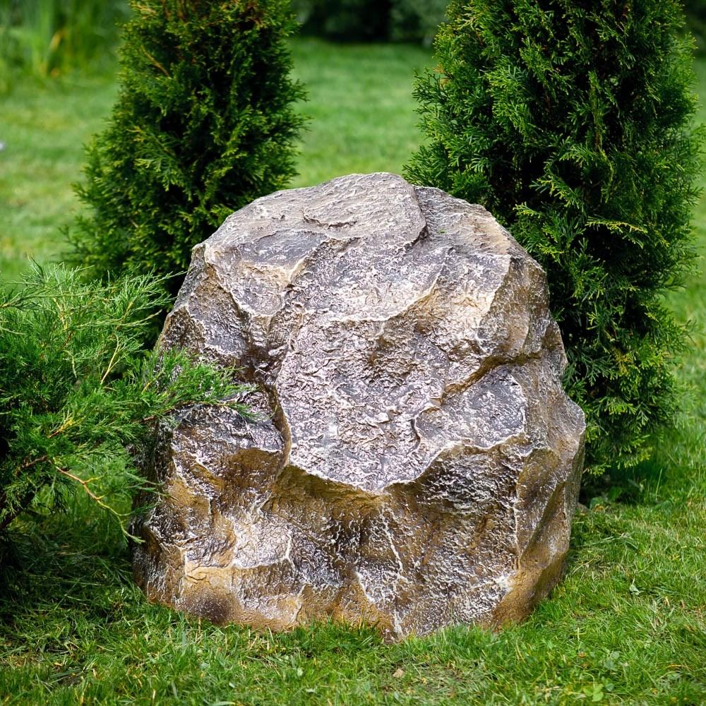Крышка люка Камень-валун высокий - фото 35456