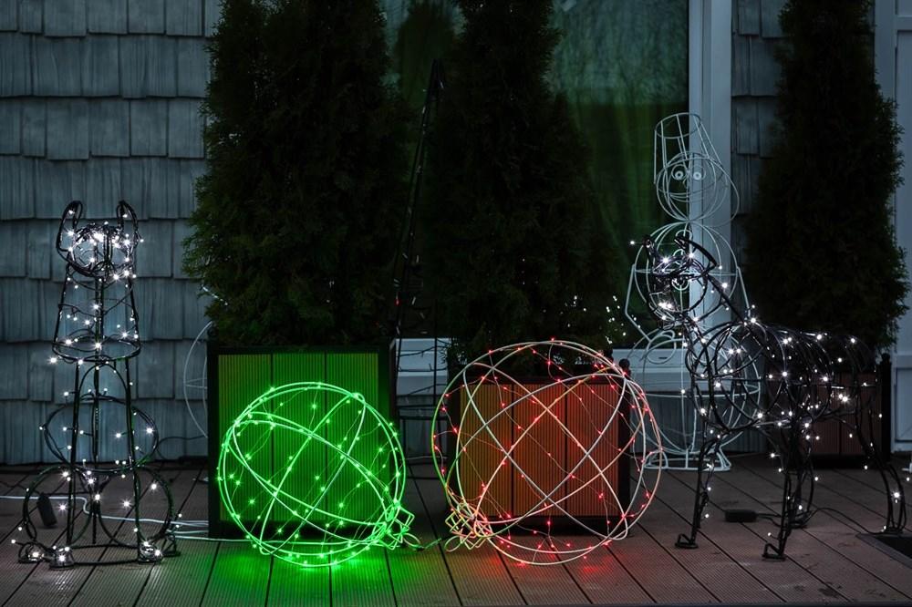 Садовая фигура световая