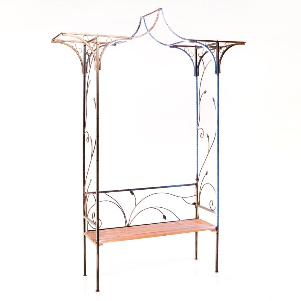 Скамейка с аркой - фото 44423