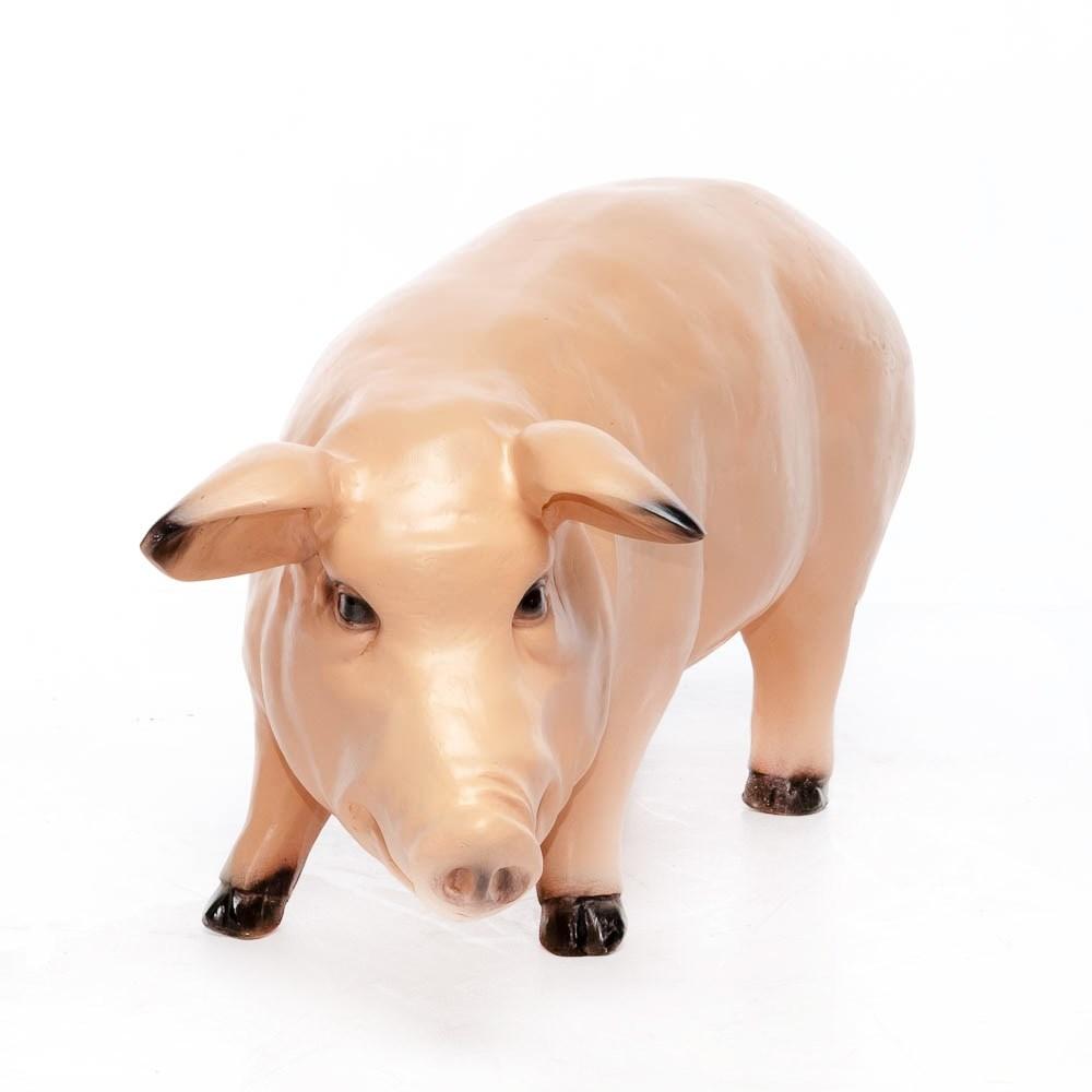Фигура для сада свинка