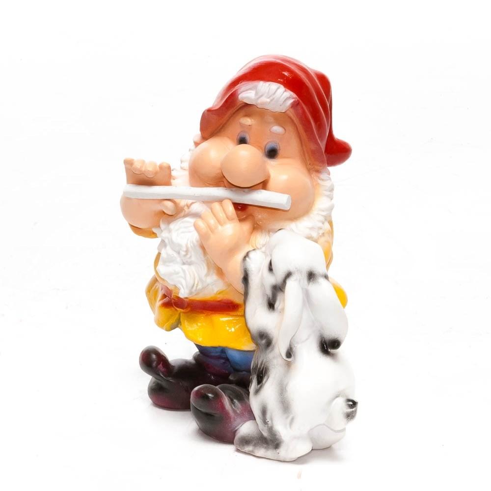 Гном с зайцем