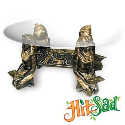 Столик стеклянный Фараоны