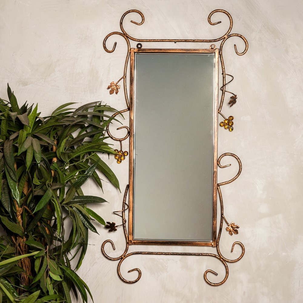 Зеркало в кованой раме - фото 49963