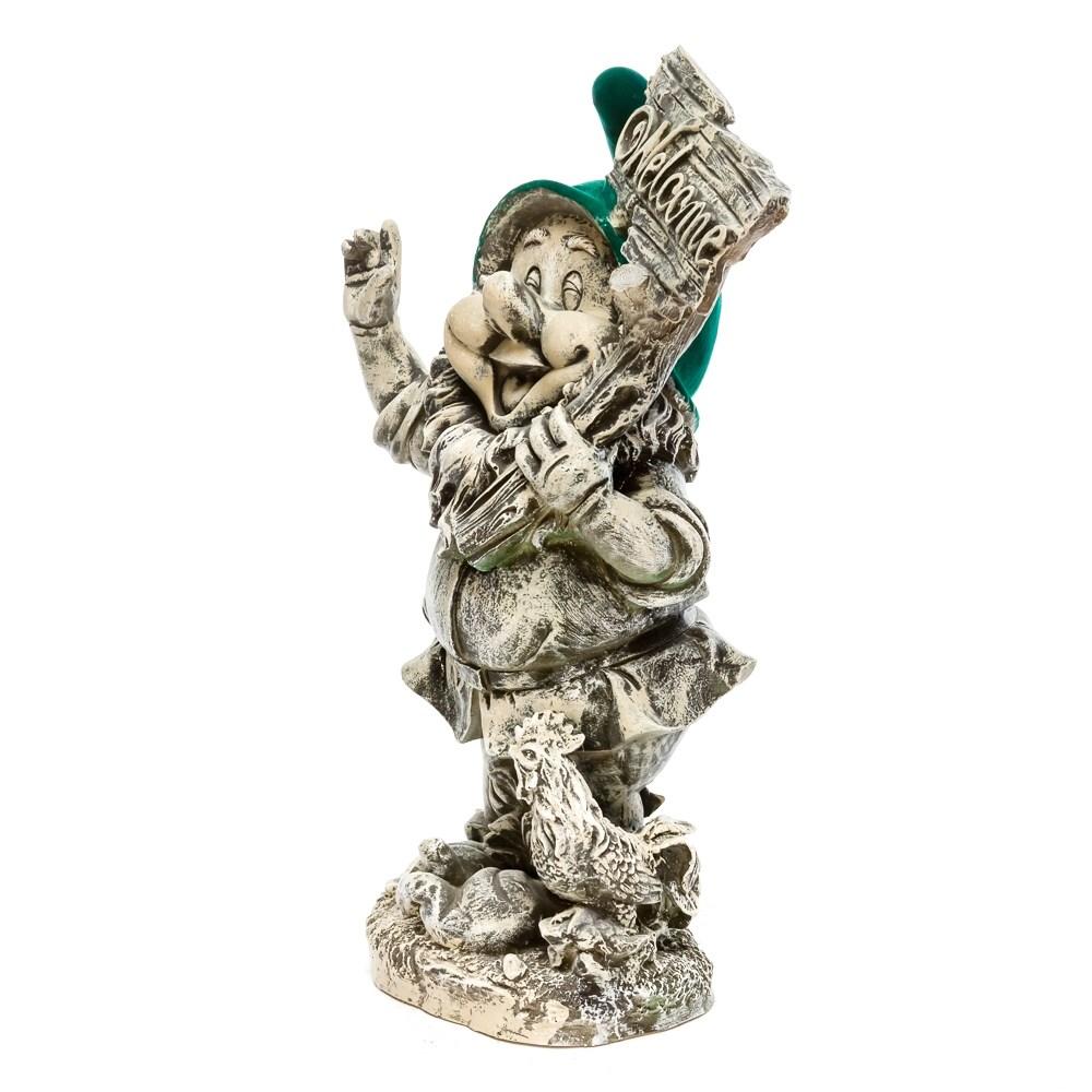Каменная фигура гном