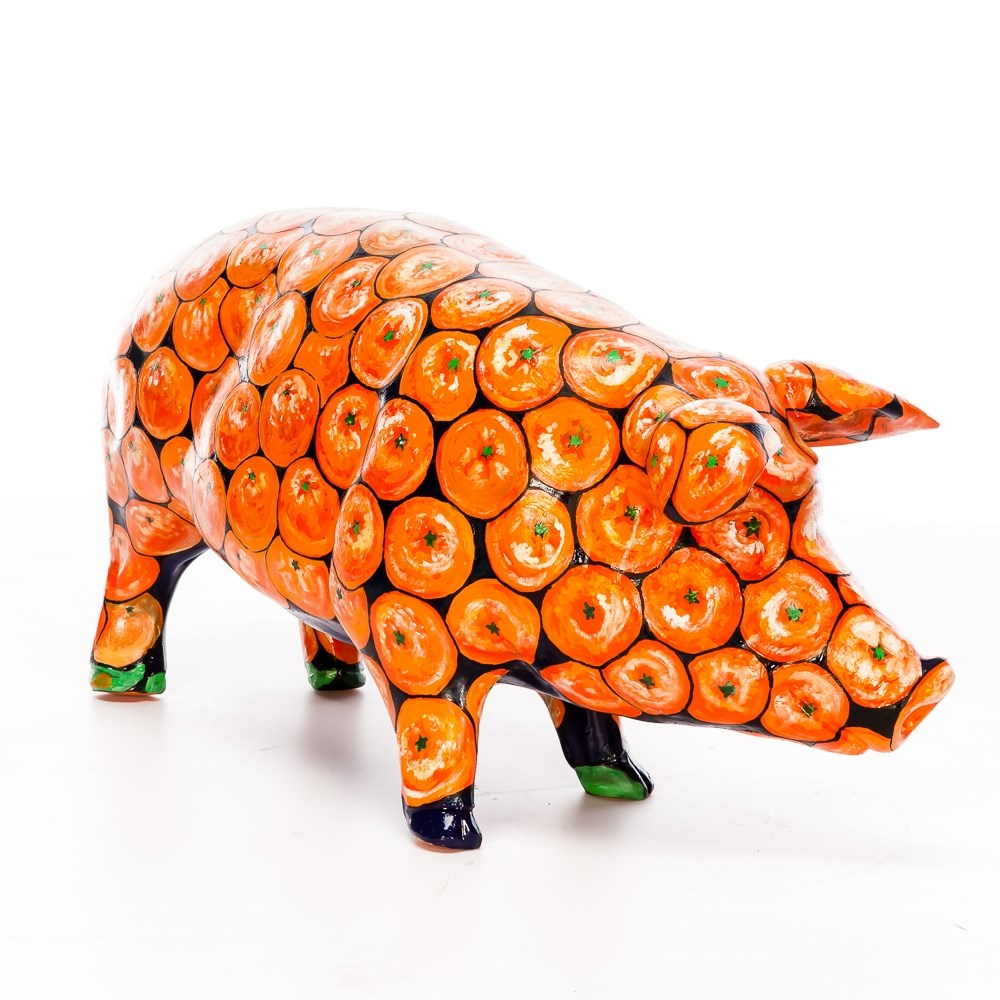 Садовая фигура Свинка - фото 52468