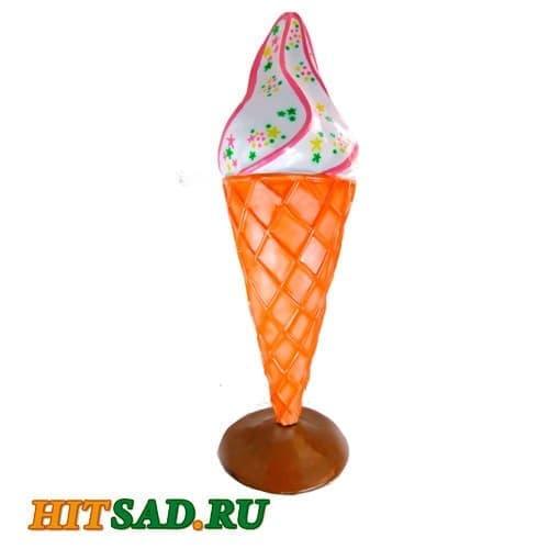 Объемная фигура мороженое