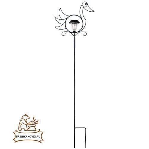 Шпалера для растений Утка с фонарем - фото 5878